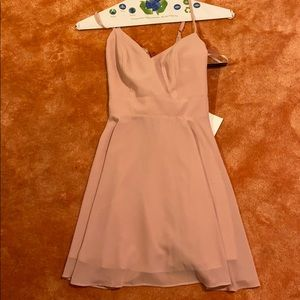 Pink Lulus dress size US small
